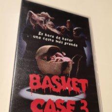 Cine: BASKET CASE 3 LA PROLE CINE DE TERROR VHS. Lote 221726030