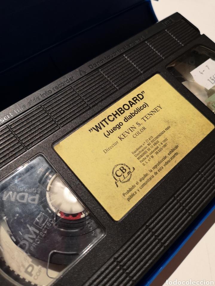 Cine: Witchboard (Juego Diabólico) Cine de Terror VHS - Foto 3 - 221726473