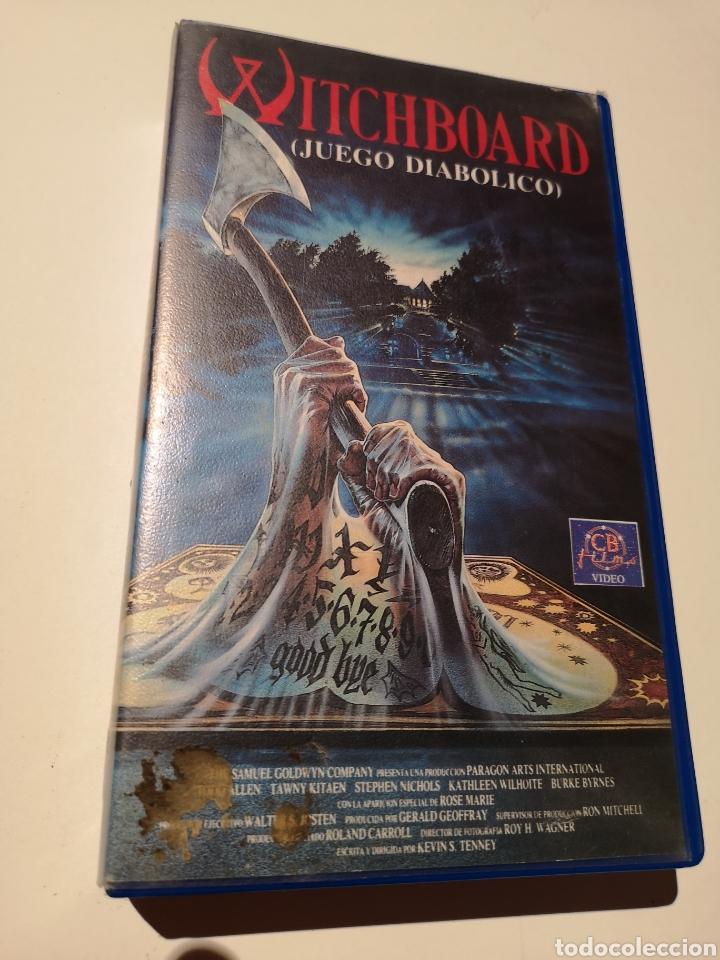 WITCHBOARD (JUEGO DIABÓLICO) CINE DE TERROR VHS (Cine - Películas - VHS)