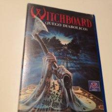 Cine: WITCHBOARD (JUEGO DIABÓLICO) CINE DE TERROR VHS. Lote 221726473