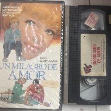Cine: VHS UN MILAGRO DE AMOR (1°EDICION). Lote 221796122