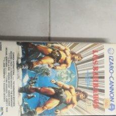 Cine: VHS LOS BÁRBAROS (1° EDICIÓN). Lote 221797538