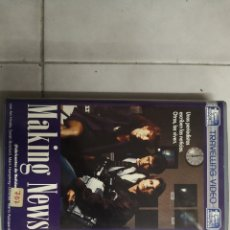 Cine: VHS MAKING NEWS (1° EDICIÓN). Lote 221798746