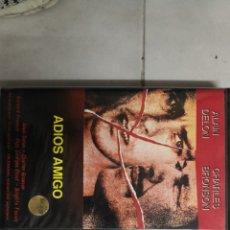 Cine: VHS ADIÓS AMIGO (1°EDICION). Lote 221800221