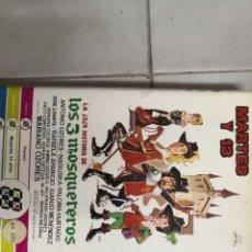 Cine: VHS LA LOCA HISTORIA DE LOS 3 MOSQUETEROS (1°EDICION). Lote 221800823