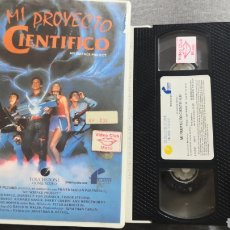 Cine: VHS MI PROYECTO CIENTÍFICO (1° EDICIÓN). Lote 221801685