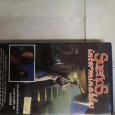 Cine: VHS SUEÑOS INTERMINABLES (1°EDICION). Lote 221803315