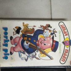 Cine: VHS PORKY PIG Y SUS AMIGOS (1° EDICIÓN). Lote 221805118
