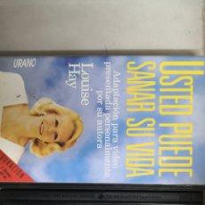 Cine: VHS USTED PUEDE SANAR SU VIDA (1° EDICIÓN). Lote 221805505