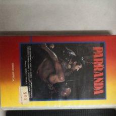 Cine: VHS PARRANDA (1° EDICIÓN, MUY RARA). Lote 221807822