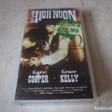 Cine: GARY COOPER - HIGH NOON VHS - V.O. INGLÉS - SECOND SIGHT 1997. Lote 221858448