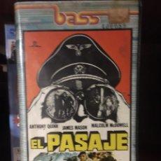 Cine: EL PASAJE VHS. Lote 221863363