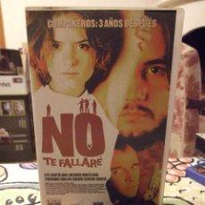 Cine: NO TE FALLARE - MANUEL RIOS - EVA SANTOLARIA , ANTONIO HORTELANO - COLUMBIA 2001. Lote 222059550