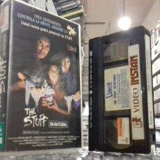 Cine: THE STUFF - VHS. Lote 222113318