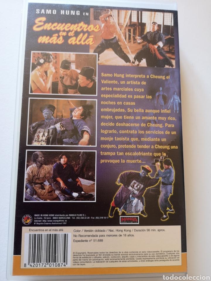 Cine: Encuentros En El Más Allá VHS - Foto 2 - 222116561