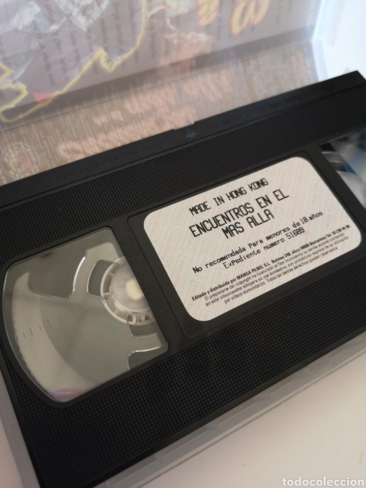 Cine: Encuentros En El Más Allá VHS - Foto 3 - 222116561
