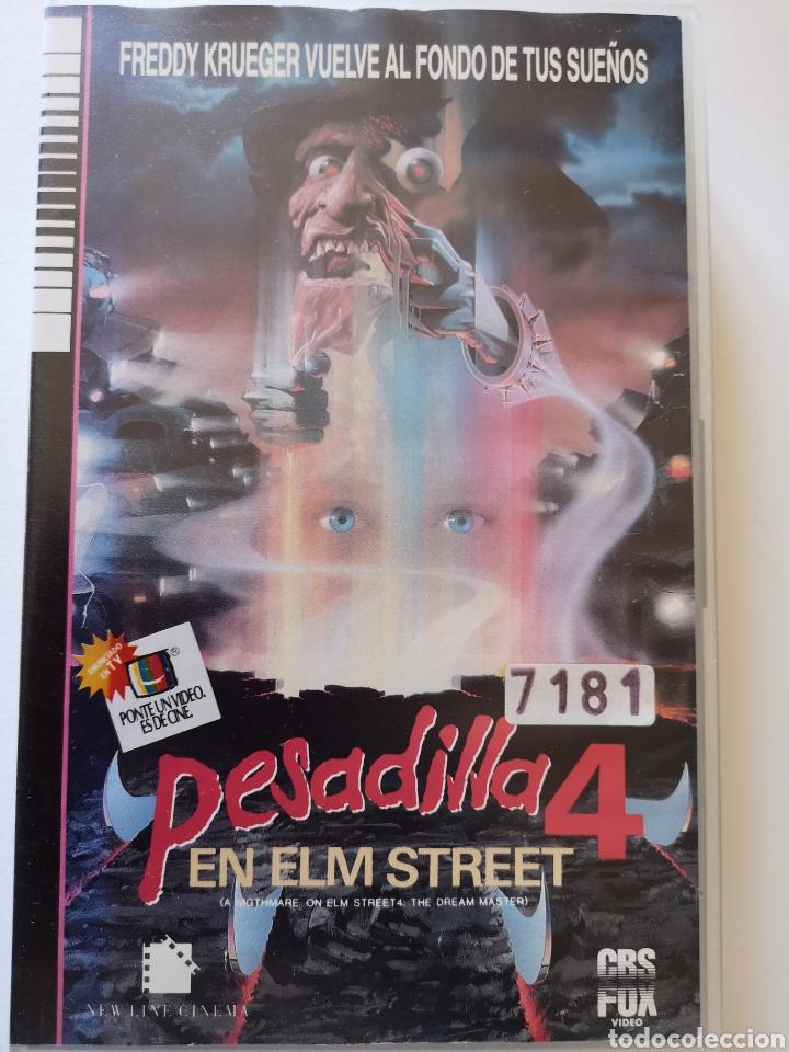 PESADILLA EN ELM STREET 4 (PRIMERA EDICIÓN) VHS (Cine - Películas - VHS)
