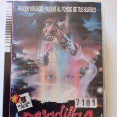 Cine: PESADILLA EN ELM STREET 4 (PRIMERA EDICIÓN) VHS. Lote 222117662