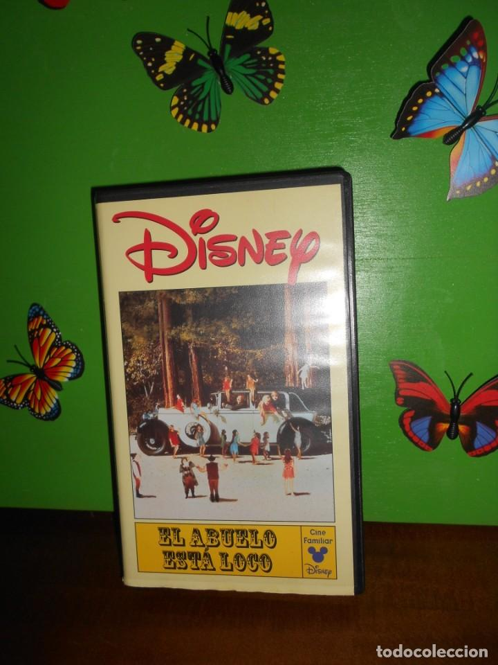 EL ABUELO ESTA LOCO - DISNEY - CINTA VHS (Cine - Películas - VHS)