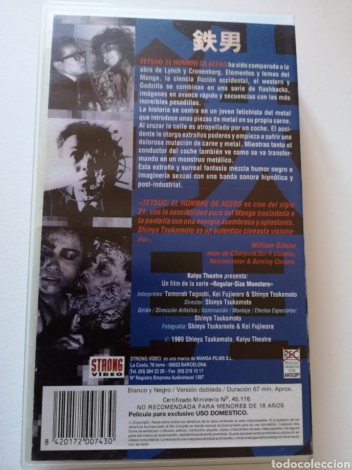 Cine: Tetsuo (El Hombre de Acero) VHS - Foto 2 - 222121170