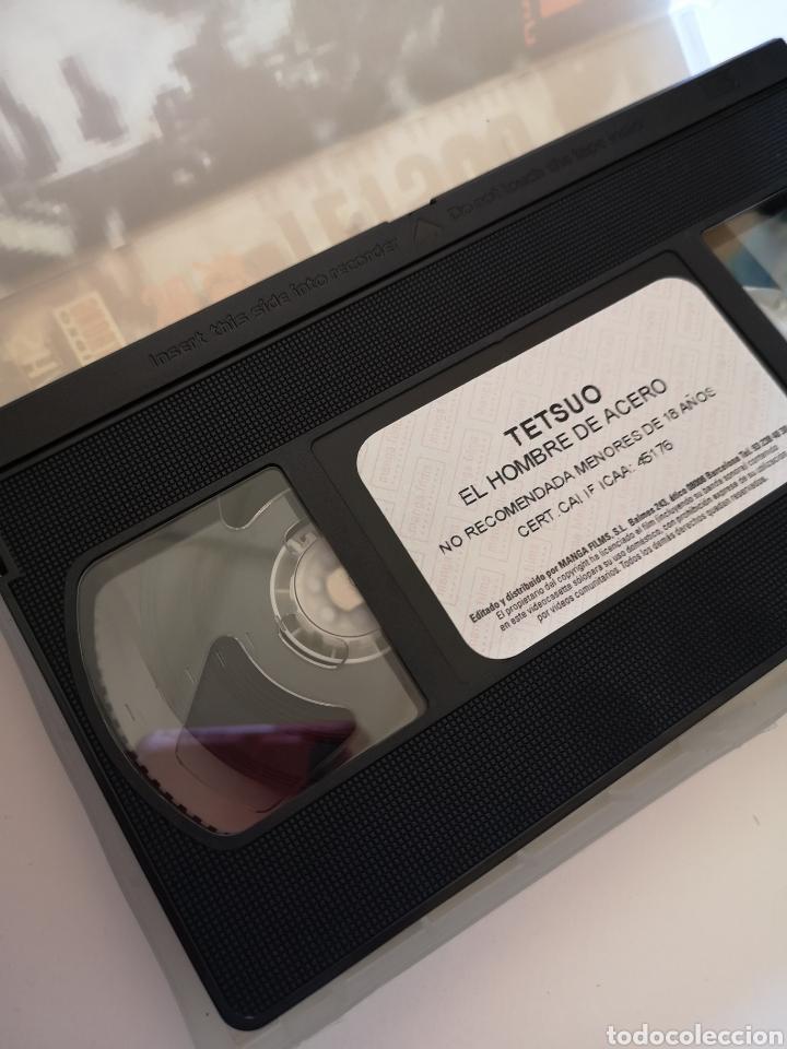 Cine: Tetsuo (El Hombre de Acero) VHS - Foto 3 - 222121170