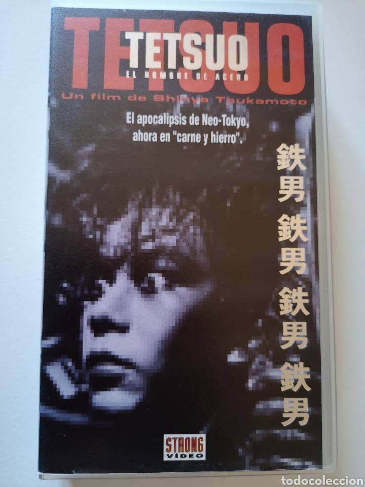 TETSUO (EL HOMBRE DE ACERO) VHS (Cine - Películas - VHS)