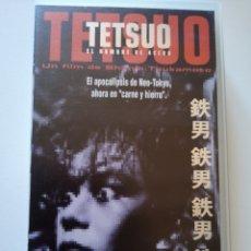 Cine: TETSUO (EL HOMBRE DE ACERO) VHS. Lote 222121170