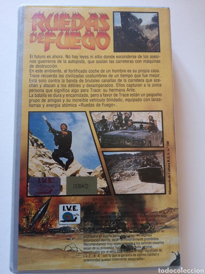 Cine: Ruedas De Fuego VHS - Foto 2 - 222122202