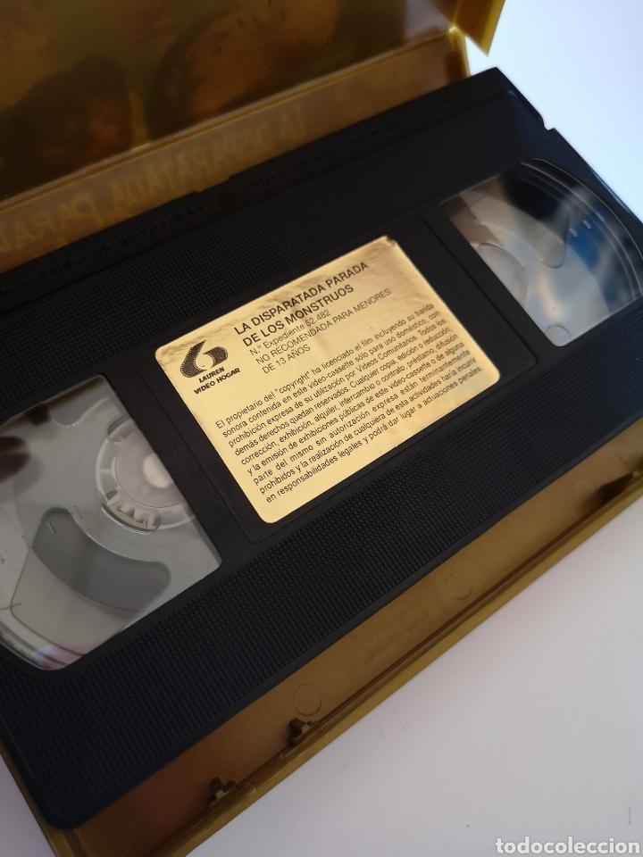 Cine: La Disparatada Parada De Los Monstruos VHS - Foto 3 - 222122950