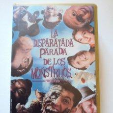 Cine: LA DISPARATADA PARADA DE LOS MONSTRUOS VHS. Lote 222122950