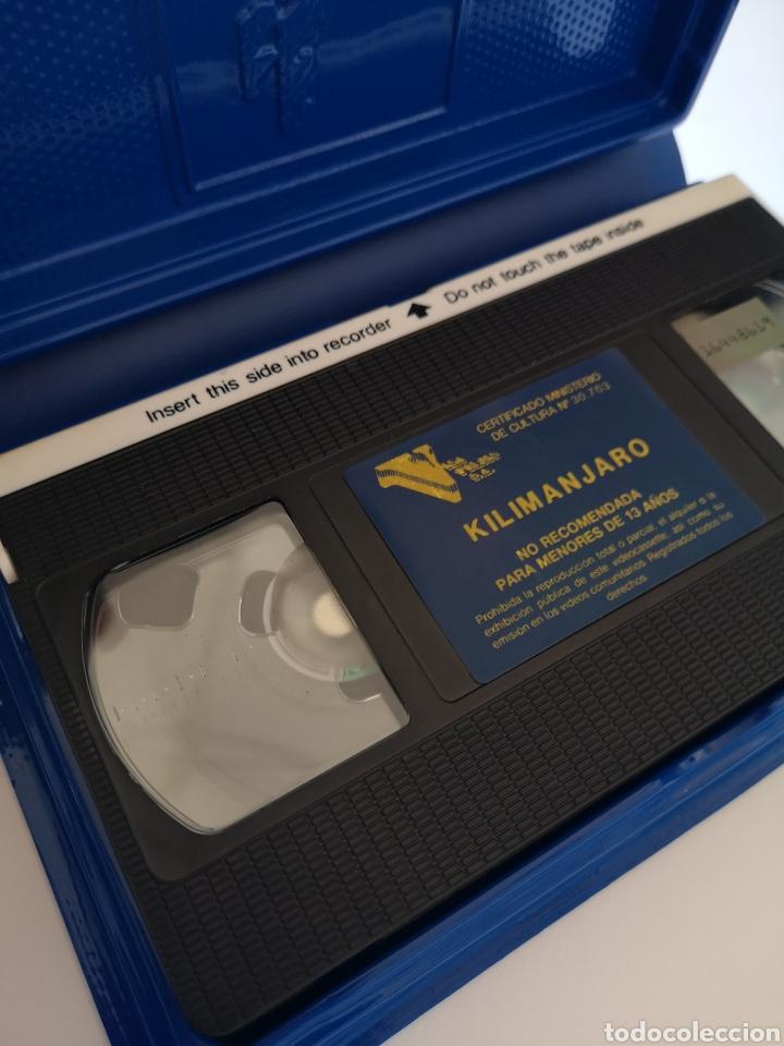 Cine: En La Sombra Del Klimanjaro VHS - Foto 4 - 222124035