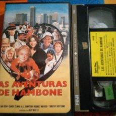 Cine: VHS- LAS AVENTURAS DE HAMBONE- O.J. SIMPSON- IZARO FILMS. Lote 222125325