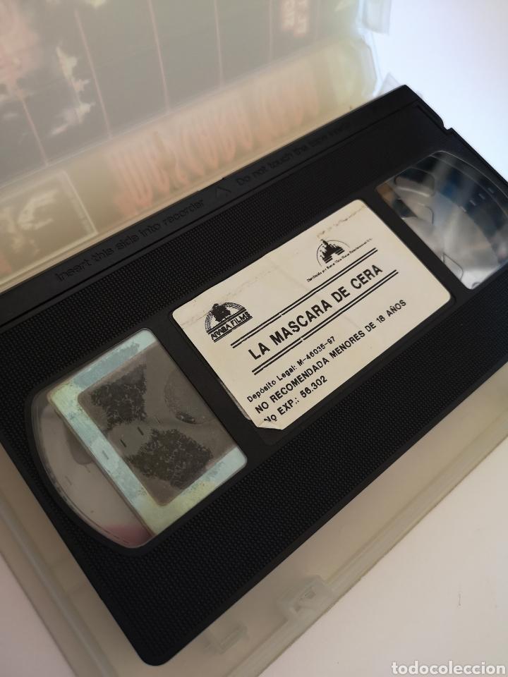 Cine: La Máscara De Cera Cine de Terror VHS - Foto 3 - 222125353