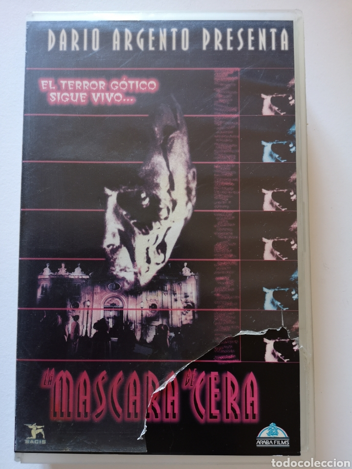 LA MÁSCARA DE CERA CINE DE TERROR VHS (Cine - Películas - VHS)