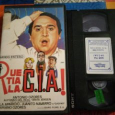 Cine: VHS- QUE TÍA LA CIA- FERNANDO ESTESO ANTONIO OZORES. Lote 222125755