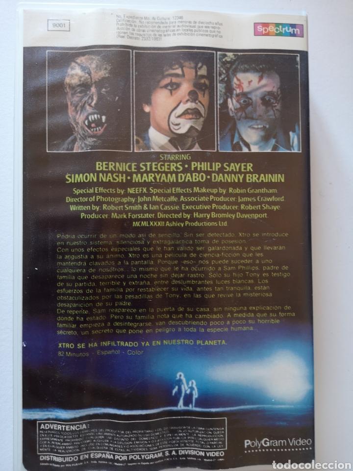 Cine: Xtro Cine de Terror VHS Años 80 s - Foto 2 - 222126340