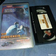 Cine: SIN CONCIENCIA- VHS- KLAUS KINSKI- DIRECTOR MARIO GARIAZZO - POLIZIESCO 1973. Lote 222126440