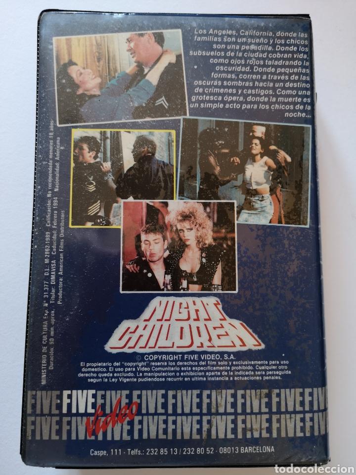 Cine: Night Children VHS - Foto 2 - 222127028