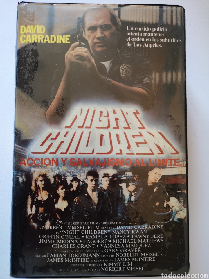 NIGHT CHILDREN VHS (Cine - Películas - VHS)