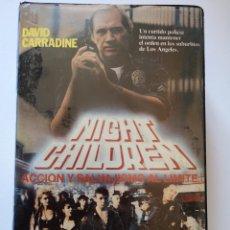 Cine: NIGHT CHILDREN VHS. Lote 222127028