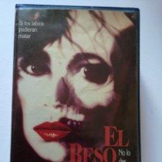 Cine: EL BESO CINE DE TERROR VHS AÑOS 80 'S (PRIMERA EDICIÓN). Lote 222130173