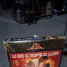 Cine: VHS LO QUE EL VIENTO SE LLEVO MGM PRECINTADA. Lote 222161325