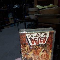 Cine: VHS LA LEY DEL DESEO PEDRO ALMODOVAR PRECINTADA. Lote 222165177