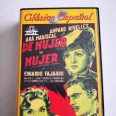 Cine: CINE CLÁSICO ESPAÑOL DE MUJER A MUJER CON AMPARO RIVELLES Y ANA MARISCAL. Lote 222176638