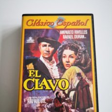 Cine: CINE CLÁSICO ESPAÑOL EL CLAVO CON AMPARO RIVELLES Y RAFAEL DURÁN. Lote 222177035