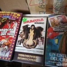 Cine: DRACULA NEGRO VHS ORIGINAL BLACULA. Lote 222177088