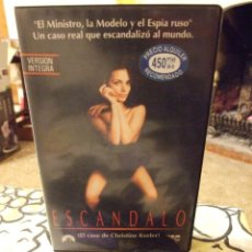 Cine: ESCANDALO - MICHAEL CATON-JONES - JOHN HURT , JOANNE WHALLEY - CIC 1990. Lote 222177113