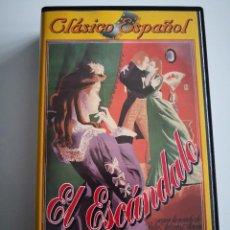 Cine: CINE CLÁSICO ESPAÑOL EL ESCÁNDALO CON MERCEDES VECINO Y ARMANDO CALVO. Lote 222177260