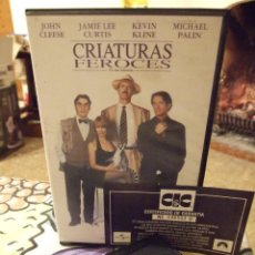 Cine: CRIATURAS FEROCES - ROBERT YOUNG - JOHN CLEESE , JAMIE LEE CURTIS , KEVIN KLINE - CIC 1997. Lote 222177468