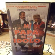 Cine: MI PAPA ES UN IDOLO - JUAN JOSE JUSID - MILLIE STEGMAN , MAPI GALAN - ENRIQUE CEREZO 1996. Lote 222178520